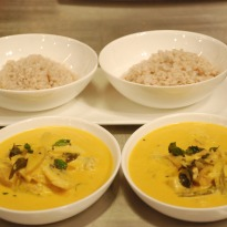 Meen Alleppey Curry with Brown Rice Recipe
