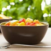 Melon and Papaya Salad
