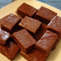 Microwave Chocolate Fudge