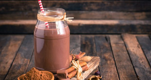 Chocolate Hazelnut Milkshake