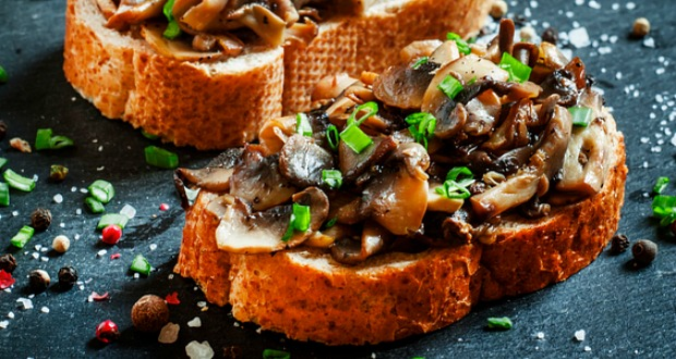 Recipe of Bacon and Mushroom Toast