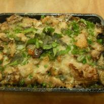 Recipe of Mushroom Bread Butter Pudding