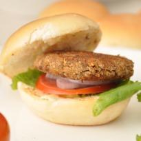 Recipe of Lentil-Mushroom Burgers