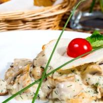 Recipe of Creamy Makhana and Mushroom