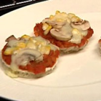 Mini Mushroom Pizza Recipe