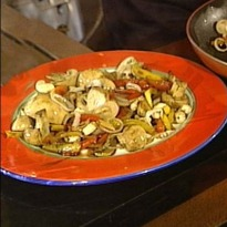 Mushroom And Pepper Salad