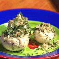 Stuffed Mushroom Salad