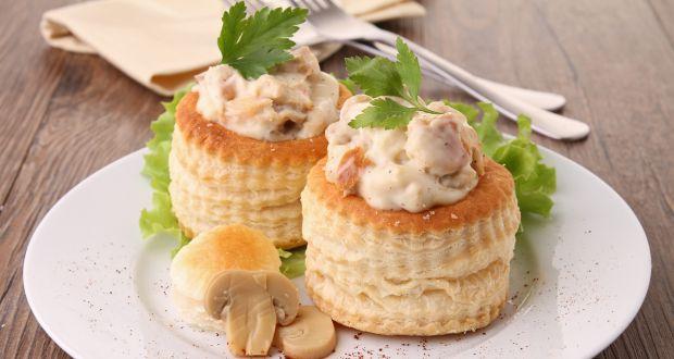 Mushroom Vol-Au-Vents
