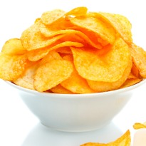 Veggie chicken tikka potato chips! New flavours beckon.