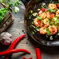 Garlic Chilli Prawns