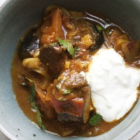 Nigel Slater's aubergine curry recipe
