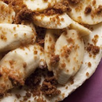 Nigel Slater's banana cheesecake recipe
