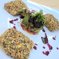 Nut And Seed Crusted Cottage Cheese Recipe