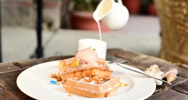 Recipe of Oz Coffee Waffle