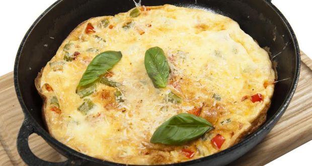 Balsamic Onion Omelette