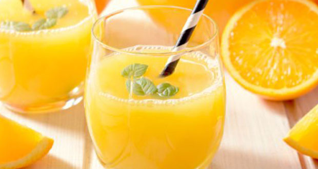Orange and Basil Juice
