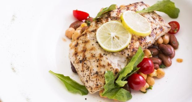 Recipe of  Pan Seared River Sole with a Soya Milk and Bhawnagri Sauce