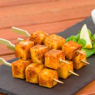 Recipe of Paneer Methi Satay