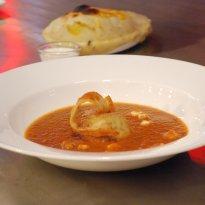 Paneer Kofta in Tomato Water Chestnut Curry