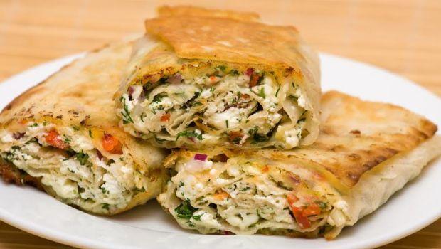 Recipe of Paneer and Salsa Tortilla Wraps