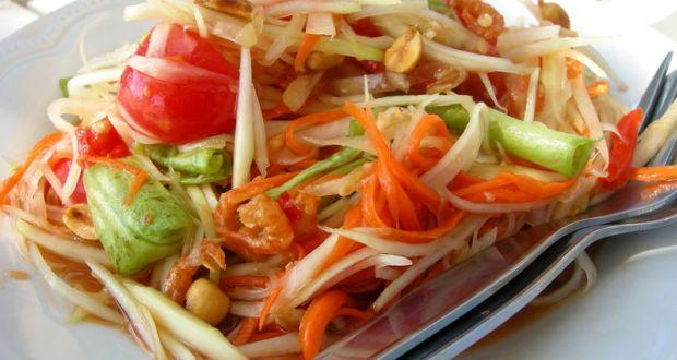 My dressing table - Papaya Salad Recipe By Niru Gupta Ndtv Food