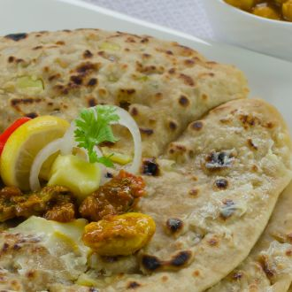 Recipe of Olive Paratha (My Yellow Table)