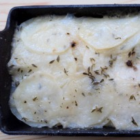 Parmesan And Thyme Potatoes Recipe