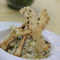 Parsnip Risotto with Garam Masala Recipe