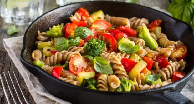Fusilli, Black Olive and Feta Pasta Salad Recipe by ...