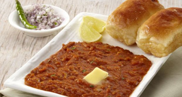 The list of the best Indian food - pav bhaji