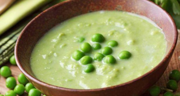 Cold Cream of Green Pea Soup