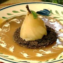 Pears in Caramel Sauce