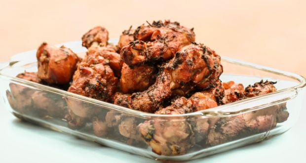 Low Fat Pepper Chicken Dry