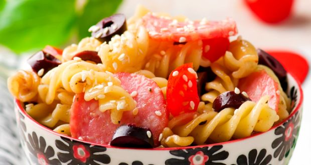Peppered Pasta Salad