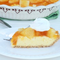 Chilled Pineapple Cheesecake