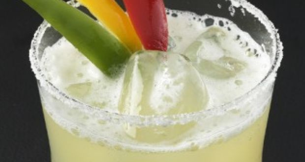 Pineapple And Bell Pepper Margarita