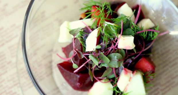 Recipe of Poached Pear Salad
