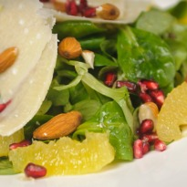 Pomegranate and Pepper Salad