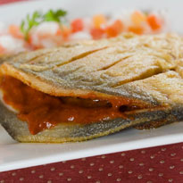 Pomfret in Lemon Sauce Recipe