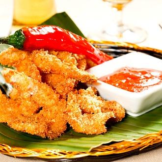 Prawn Rava Fry Recipe By Aditya Bal Ndtv Food