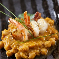 Recipe of Prawns with Chickpeas