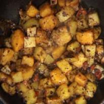 Pumpkin and Potato Vegetable