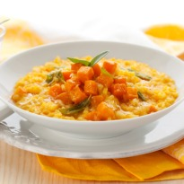 Risotto with Pumpkin and Red Wine