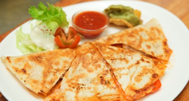 Recipe of Grilled Veggie Quesadilla