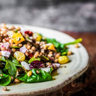 Quinoa & Jamun Salad