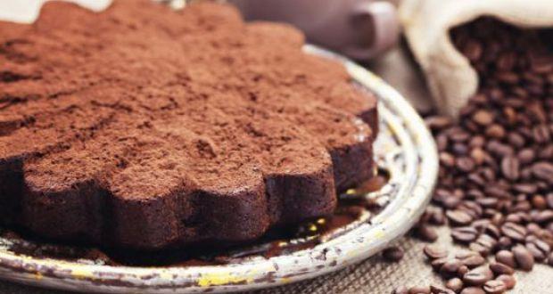 Ragi Coffee Cake with Kahlua Chocolate Ganache