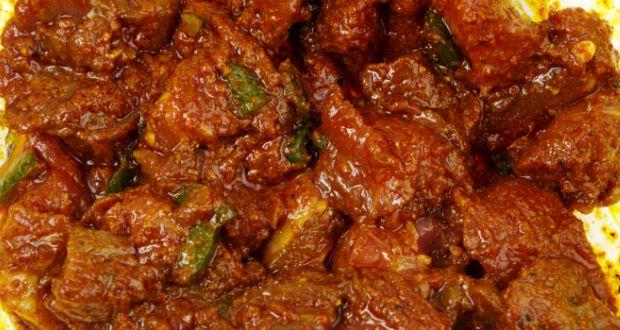 Rajasthani laal maas recipe by marut sikka ndtv food rajasthani laal maas forumfinder Image collections