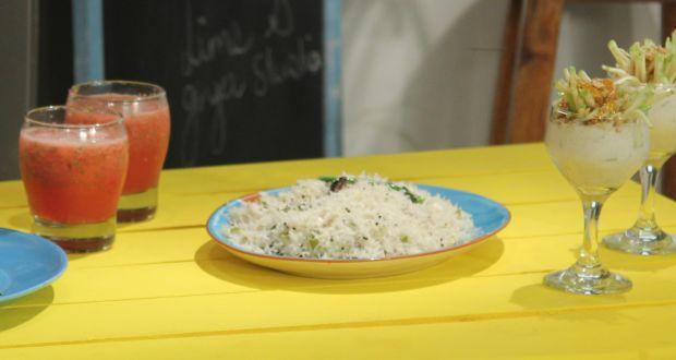 Recipe of Raw Mango Pulao (My Yellow Table)