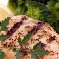 Red Snapper With Wine Sauce