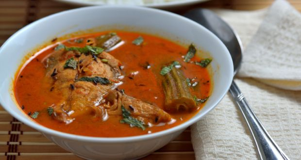 Red Hot Chilli Fish Curry